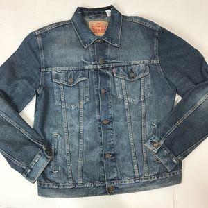 Levi's | Medium wash jean jacket men's Xl
